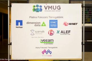 VMUG konferencia támogatók