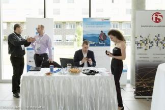 Asztal a VMUG konferencián