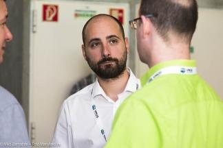 Résztvevők beszélgetnek a VMUG konferencián